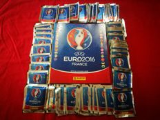 Panini - Euro 2016 France - An empty original album with 80 original closed packs