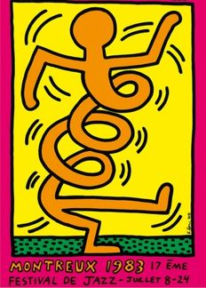 Keith Haring - Montreux Jazz - 1983