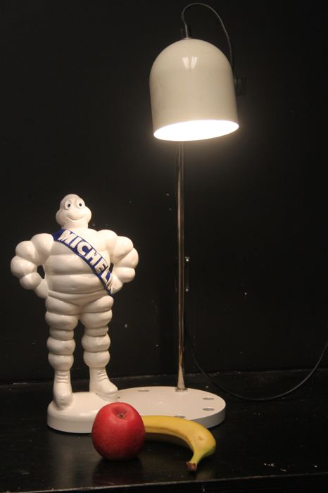 Michelin Bibendum table lamp - 60 cm height -  1970s