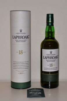 Laphoroaig 18 years old -   Islay Single Malt 70cl 48%vol