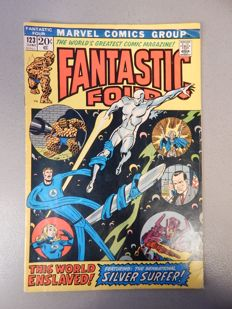 Marvel Comics - Fantastic Four #123 - 1x sc - (1972)