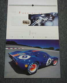 1999 calendar Gunther Raupp Collection
