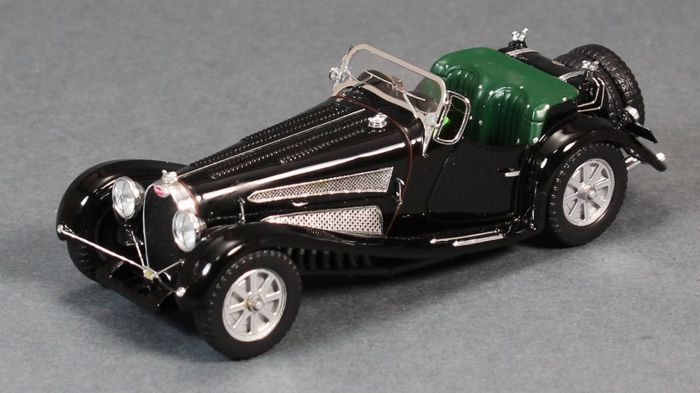 Minichamps Mullin collection - Scale 1/43 - Bugatti Type 54 Roadster 1931 - Kleur black