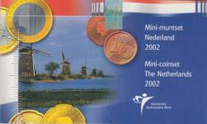 The Netherlands - Mini coin set 2002