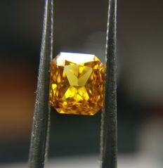 0.42 ct Natural Diamond 'untreated, GIA certificate, very low reserve price'