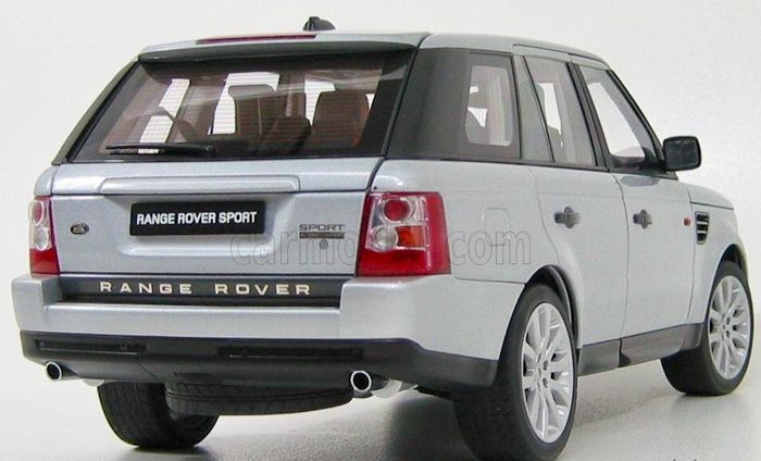 autoart scale 1 18 land rover range rover sport 2006 silver catawiki. Black Bedroom Furniture Sets. Home Design Ideas