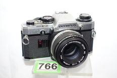 Olympus OM10 with 1.8 50mm lens