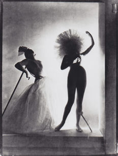 Horst P. Horst (1906-1999)- Salvador Dali Costumes for Chanel, 1932 / Edward Steichen (1879-1973) - Madame Varda in a dress by Chanel, 1924