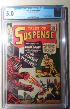 Tales Of Suspense #46 - 1st Appearance of the Crimson Dynamo - Marvel Comics - CGC 5.0 - (1963)