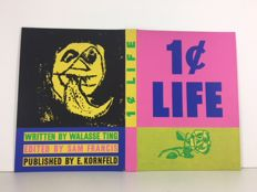 One Cent Life Cover - Roy Lichtenstein and Pierre Alechinsky