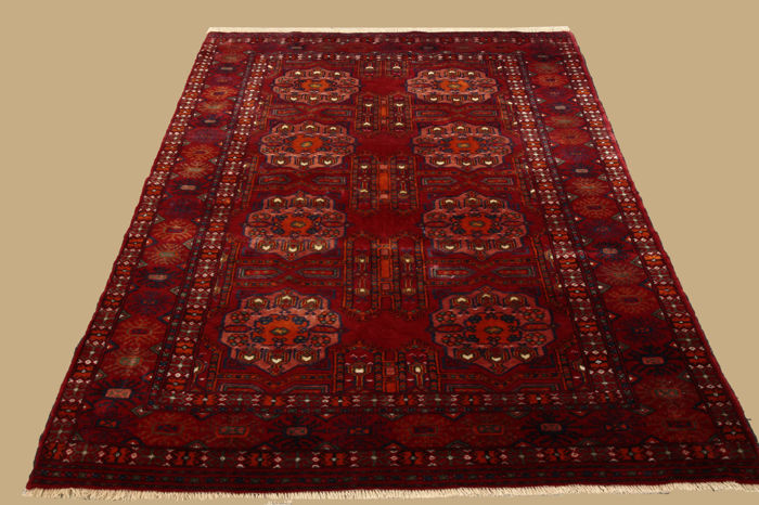 Old antique Esari Afghanistan approx. 245 x 162 cm