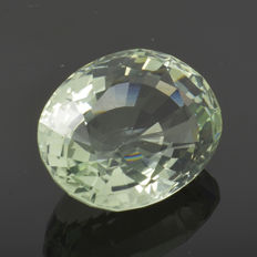 Prasiolite (Green amethyst) - 11.61 ct – No reserve price