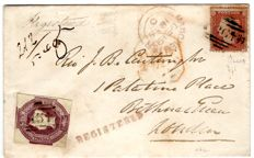 Great Britain 1855 - Registered Cover to London