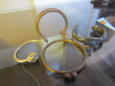 Lot of 4 bracelets or ankle rings TOUAREG - Mali or Niger.