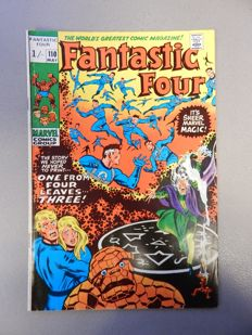 Marvel Comics - Fantastic Four #110 - 1x sc - (1971)