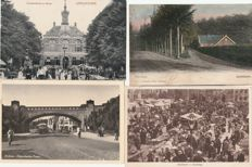 postcards Dutch cities and villages 72 x all provinces and 22 snapshots from abroad