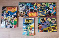Batman: The Dailies 1943-1946 - Batman: The Sunday Classics: 1943-1946 - Batman in the Sixties -  first print - 5x sc (1990/1999)