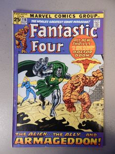Marvel Comics - Fantastic Four #116 - Double size issieu - 1x sc - (1971)