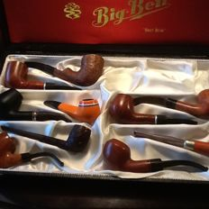 10 new (unsmoked) tobacco pipes.