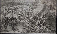 "Anon Flemish School or French School 17e th "" Beautiful Cavalry Battle Scene "" circa 1650"