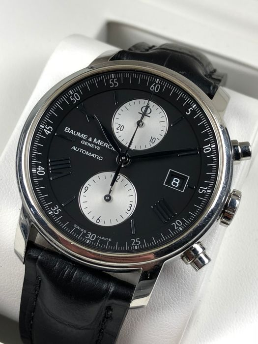 69e76198033 Baume   Mercier Classima Executive XL Chronograph Automatic ref.  65591 -  men s watch