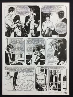Roi, Corrado - original plate Dylan Dog no. 271 (2012)