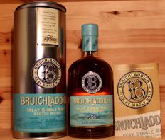 Bruichladdich aged Fifteen (15) years / Second Edition, Islay Single Malt Scotch Whisky, incl. Metal Box, 46%vol., 700ml