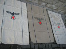 Wehrmacht army food bags from the years 1939/41/43