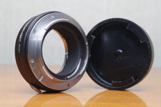 Leica-adapter code 14127 with diaphragm, for use of visoflex lenses on Leicaflex