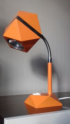 Unknown Designer - A 80' geometric desk lamp