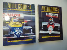 AUTOCOURSE - 9 volumes 1983 to 1992