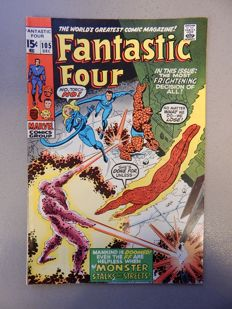 Marvel Comics - Fantastic Four #105 - 1x sc - (1970)