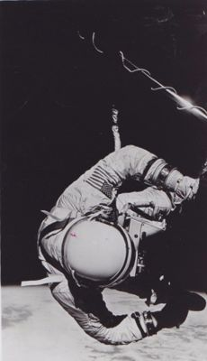 NASA/AP - Buzz Aldrin space walk, 1969 - Apollo 15, 1971.