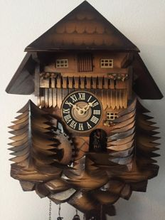 Cuckoo clock with melody - period 1970