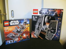 Star Wars - 9492 + 7957 - Tie fighter + Sith Nightspeeder
