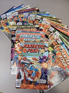 Marvel Comics - Fantastic Four #175 to 189 - 16x sc - (1976-1977)