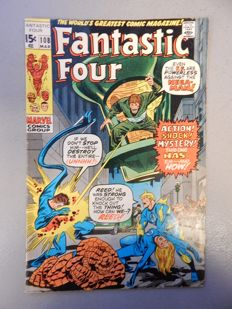 Marvel Comics - Fantastic Four #108 - Last issue drawn by Jack Kirby - 1x sc - (1971)