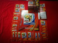 Panini - World Cup 2010 South Africa - an empty original album with 130 original closed packs