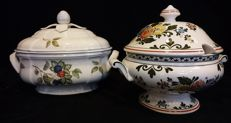 Villeroy & Boch, 2 covered dishes / tureens, Cottage en Alt Amsterdam