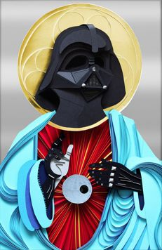 HOLY DARTH VADER limited edition print
