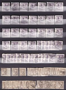 Spain 1922/1984 - Lot of more than 10,000 stamps - Individual and series