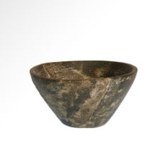 Diorite Bowl, Egypt, Early Dynastic, 6.5 cm D