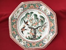 Famille verte charger - China - ca. 1700 (Kangxi period)