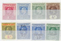 British Commonwealth 1870/2009 - collection Cayman, Leeward Islands and Jamaica on sheets