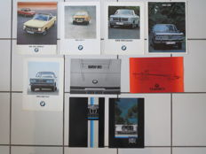 9 Originele BMW Brochures
