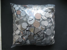 Europe - Lots of various coins (ca. 2000 pcs) - including silver