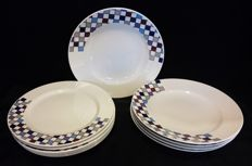 Villeroy & Boch, Corpo type, 5 deep and 6 flat plates