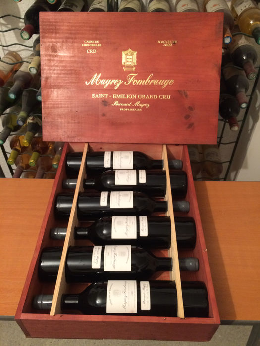2002 Chateau Magrez Fombrauge, Saint-Emilion Grand Cru - 6 bottles (75cl) in OWC