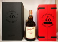 """Glenfarclas 40 years old  """"Warehouse"""" 43% abv Limited Edition ."""