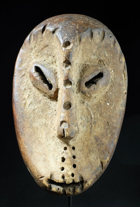 Mask of Bwami - LEGA - Democratic Republic of the Congo
